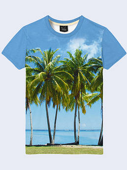 Мужская футболка Пальмы