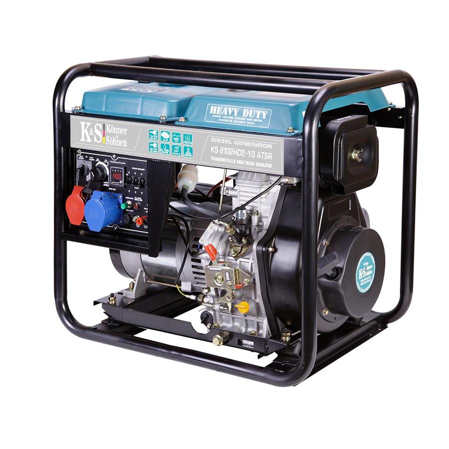 Дизельный генератор Konner & Sohnen KS 8102HDE-1/3 ATSR