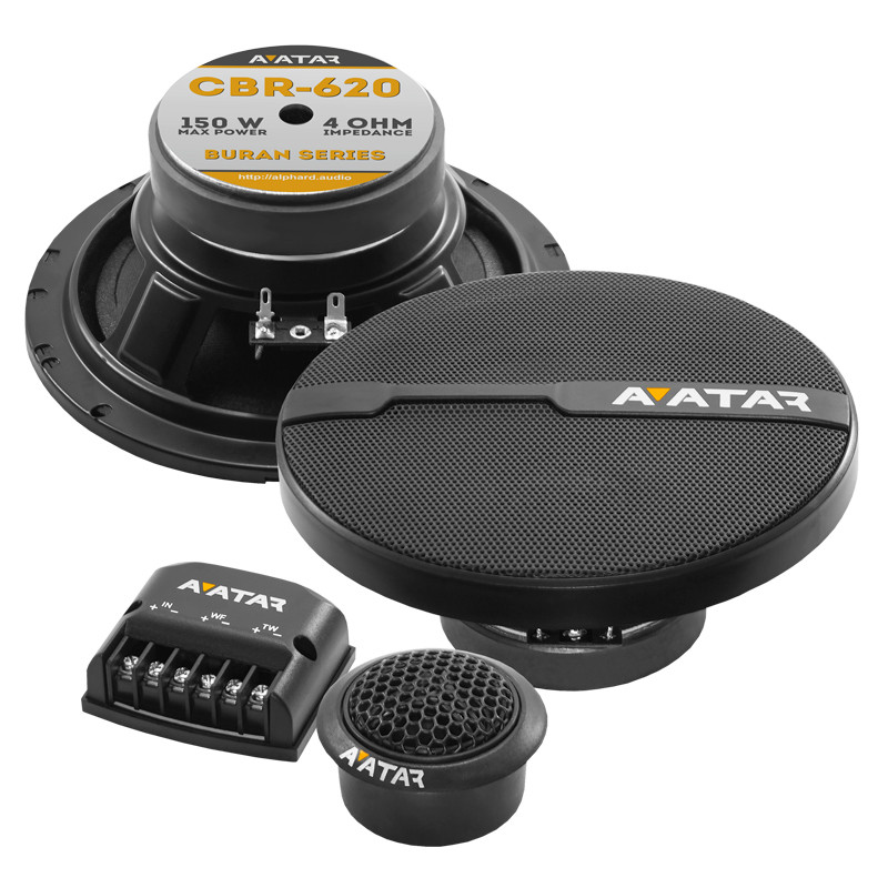 Компонентная акустика CBR-620 AVATAR