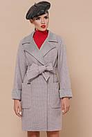 Женское пальто прямого силуэта рр 42-54
