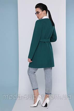 Женское пальто прямого силуэта, без воротника  рр 40,42,44, фото 2