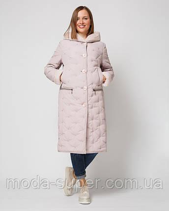 Куртка женская стеганная-вельбо рр 46-58, фото 2