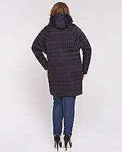 Стеганная женская куртка с рукавом летучая мышь рр 48-56, фото 3