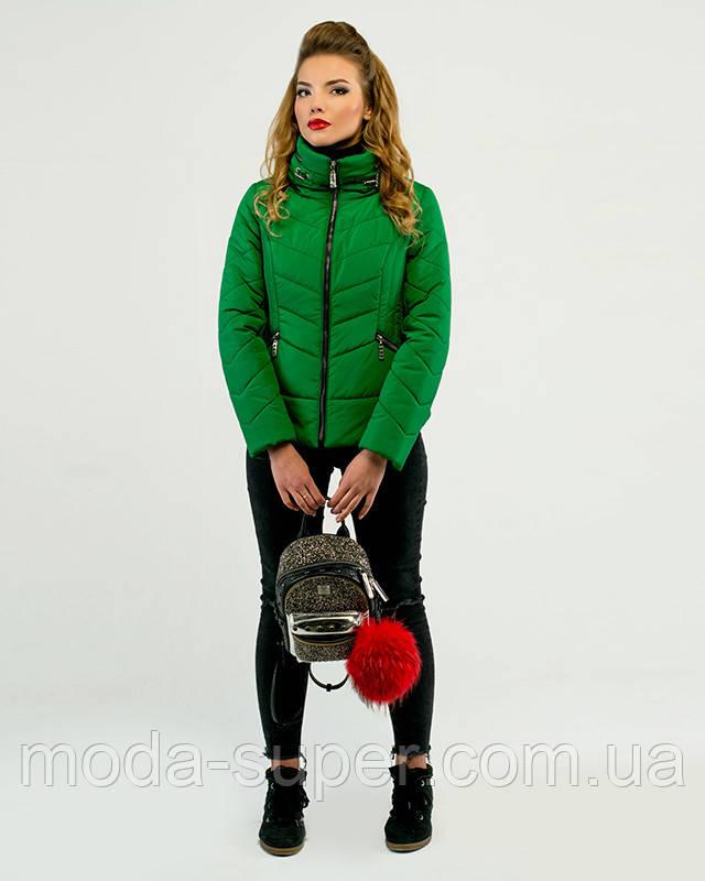 Женская короткая куртка демисезон рр 46-50