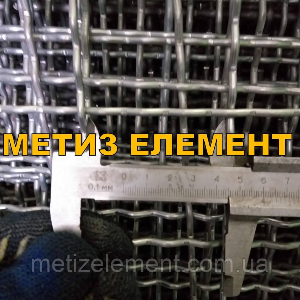 45x45x4,0 сетка канилированная оцинкованная