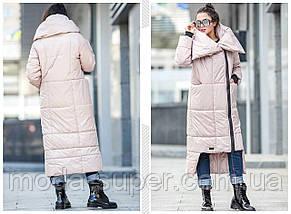 Зимове пальто - ковдру,рр L-XL, фото 2