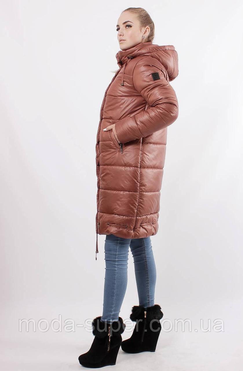 Женская зимняя куртка-пуховик рр 48-56