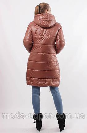 Женская зимняя куртка-пуховик рр 48-56, фото 2