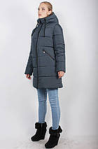Женская зимняя куртка-пуховик на синтепоне, рр 48-58, фото 3