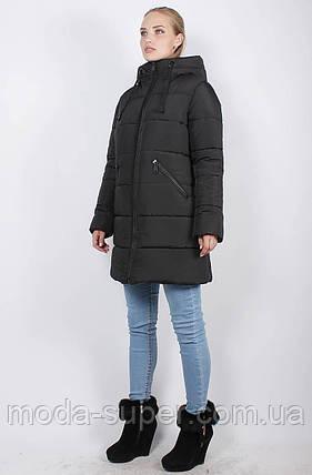 Женская зимняя куртка-пуховик, рр 48-58, фото 2
