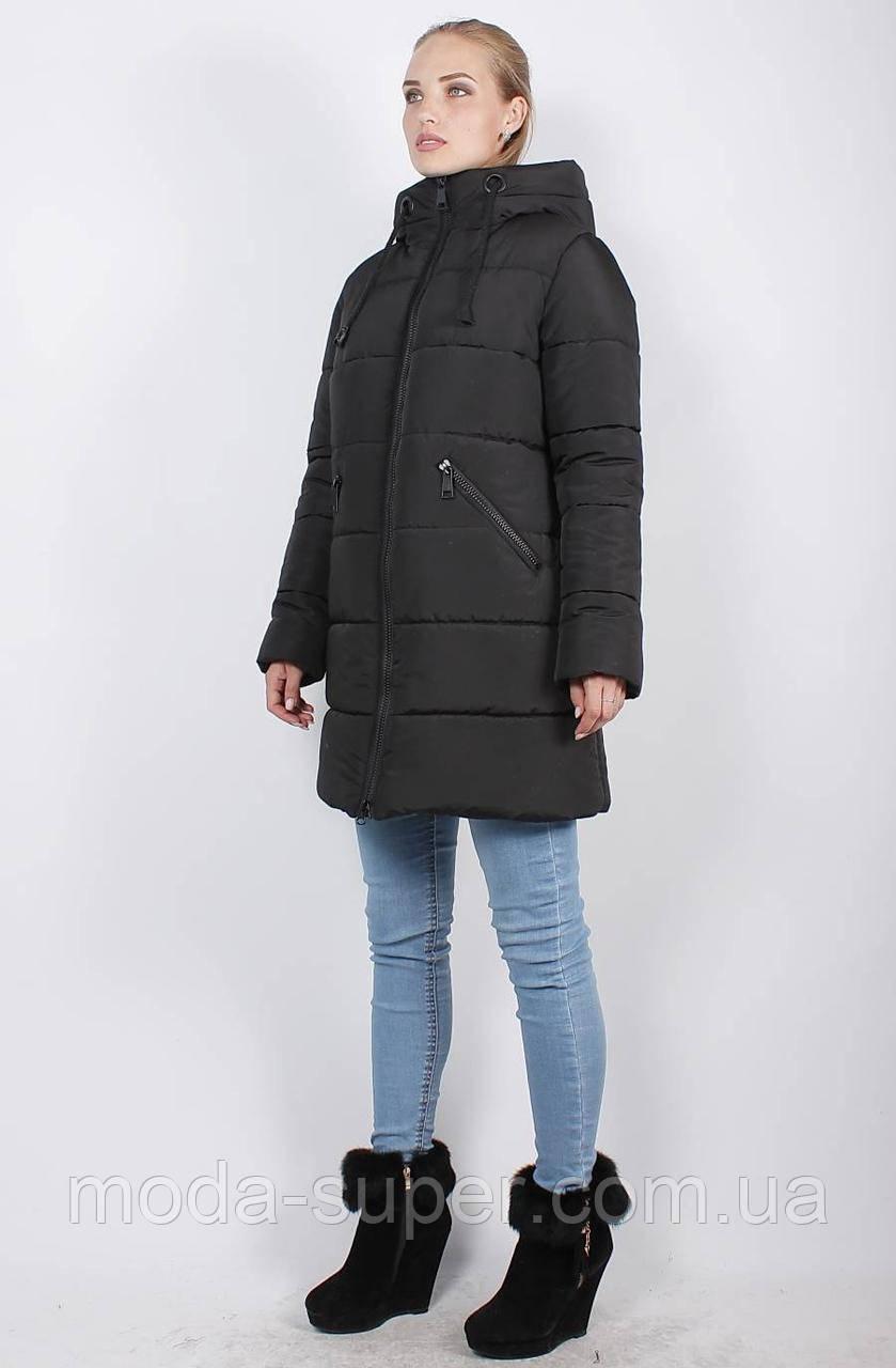 Женская зимняя куртка-пуховик, рр 48-58