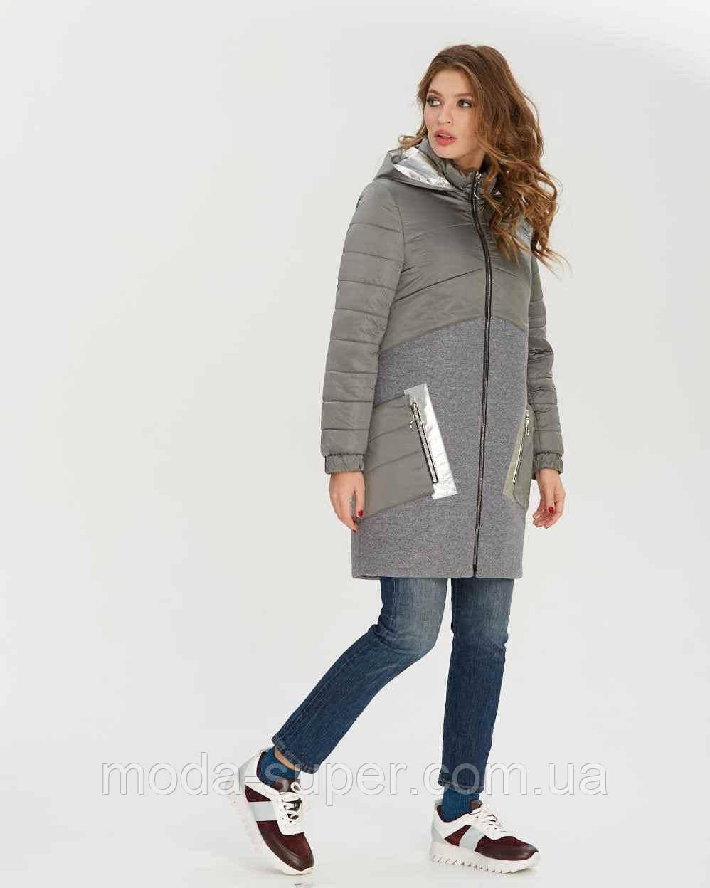 Куртка женская с кашемиром рр 42