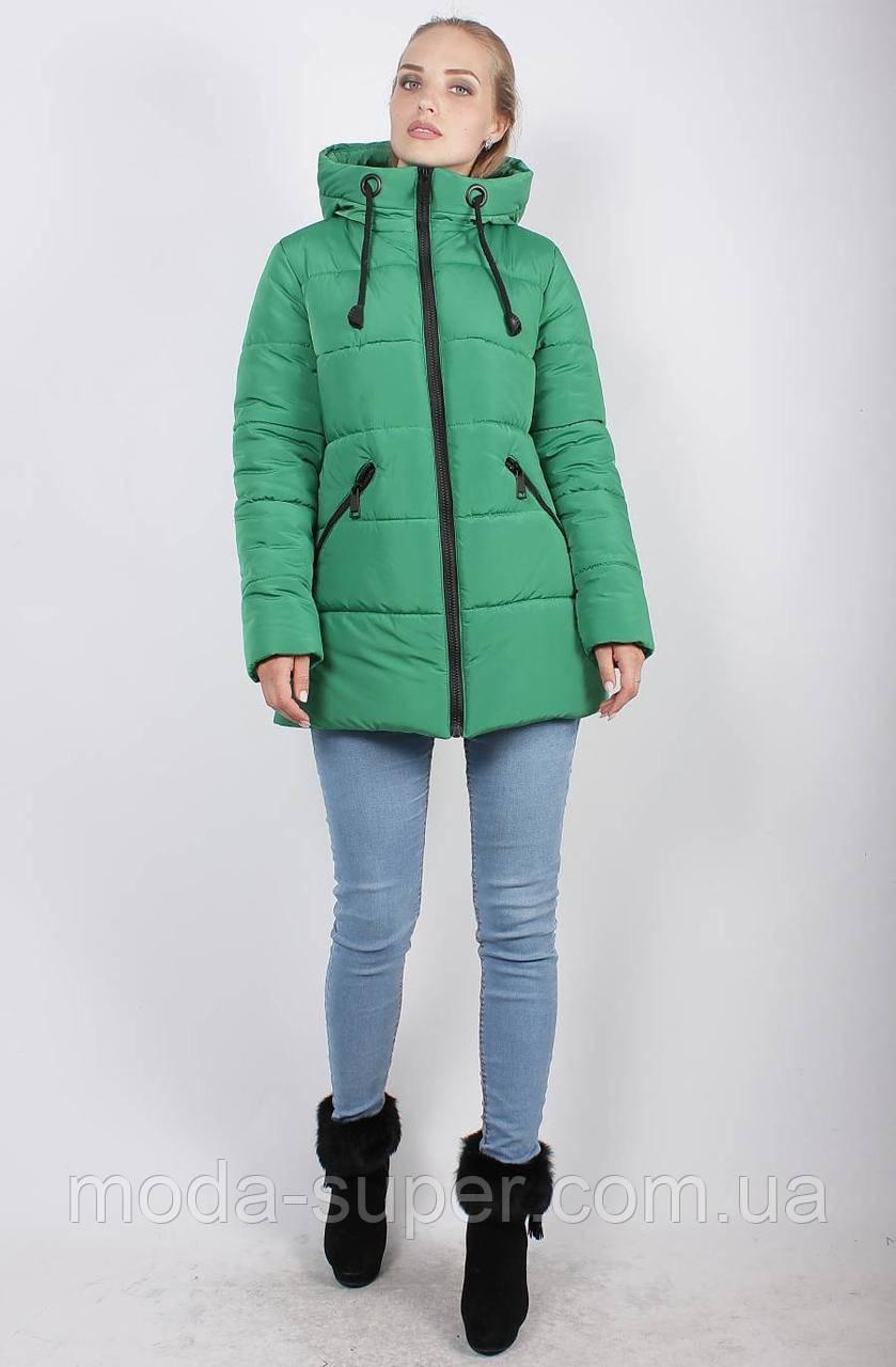 Укороченная зимняя куртка-пуховик, рр 48-58