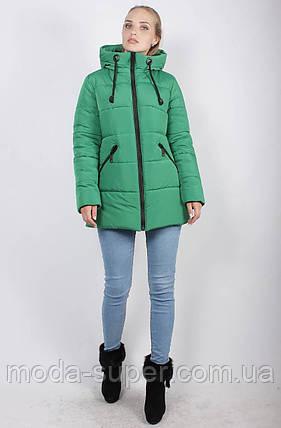 Укороченная зимняя куртка-пуховик, рр 48-58, фото 2
