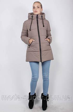 Зимова куртка-пуховик, рр 48-58, фото 2