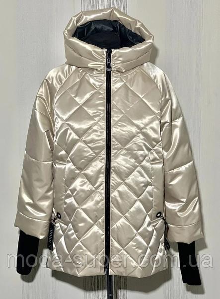 Куртка женская с рукавом довяз  рр 48-56