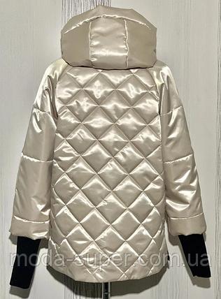 Куртка женская с рукавом довяз  рр 48-56, фото 2
