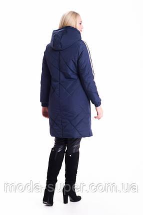 Женская удлиненная куртка-плащ рр 42-60, фото 2