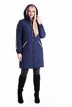 Женская удлиненная куртка-плащ рр 42-60, фото 3