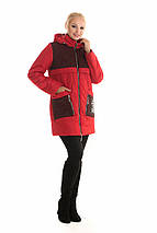 Женская куртка комбинированная  рр 42-54, фото 3