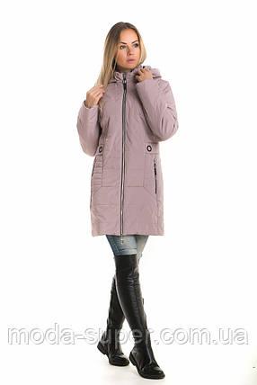 Женская молодежная куртка деми рр 42. 44. 46, фото 2