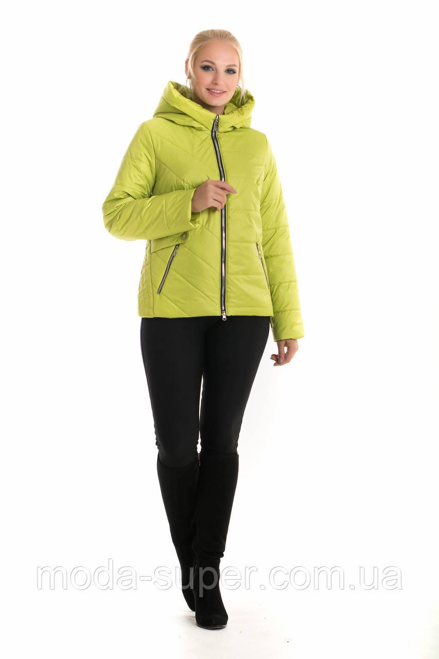 Женская куртка с капюшоном рр 42-56