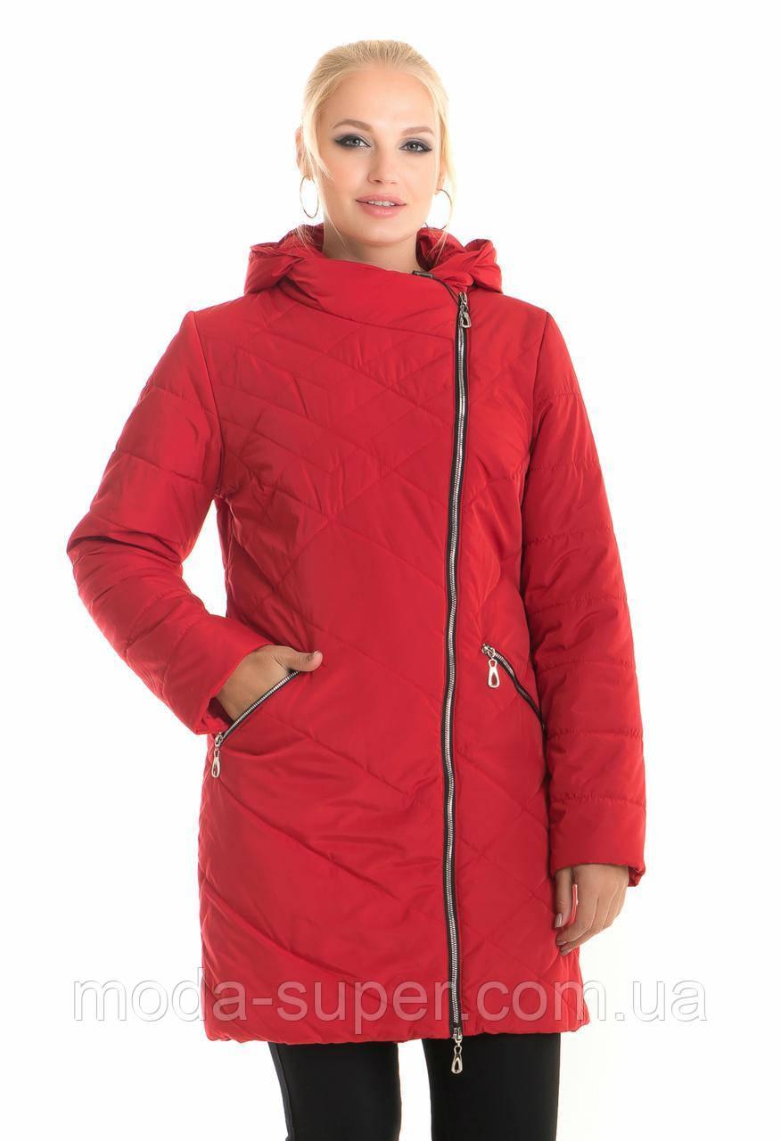 Женская куртка удлиненная рр 44-58