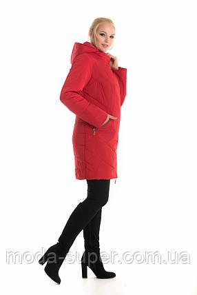 Женская куртка удлиненная рр 44-58, фото 2