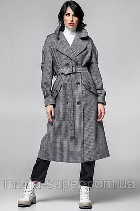 Женское стильное пальто-тренч рр S  M  L, фото 2