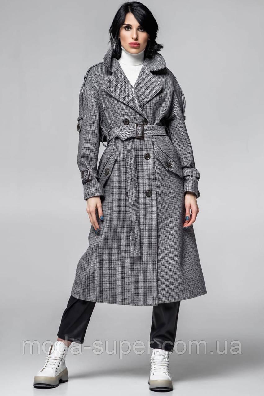 Женское стильное пальто-тренч рр S  M  L