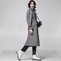 Женское стильное пальто-тренч рр S  M  L, фото 3