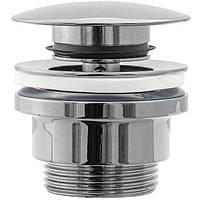 Донный клапан пробка для раковины умывальника REA KLIK-KLAK CHROME REA-A5217 (донний клапан для раковини)