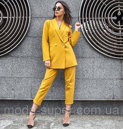 Женский костюм с укороченными брюками  рр S  M  L, фото 2