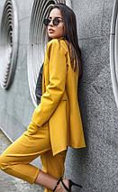 Женский костюм с укороченными брюками  рр S  M  L, фото 3