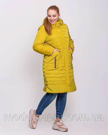 Женская куртка с сьемным капюшоном  рр 50-62, фото 2