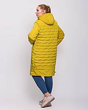 Женская куртка с сьемным капюшоном  рр 50-62, фото 3