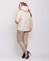 Женская куртка комбинированная   рр 48-58, фото 3