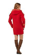 Женское пальто на молнии и с капюшоном рр 46-52, фото 3