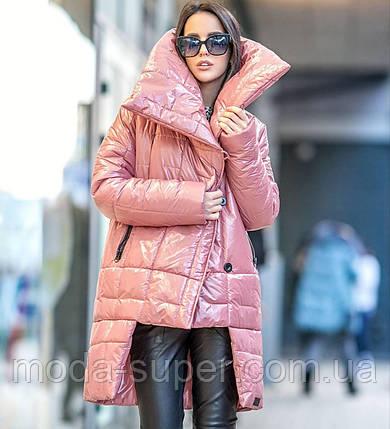Теплая стильная куртка одеяло, фото 2