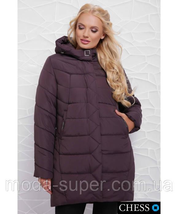 Женская куртка свободного кроя,удлиненная сзади рр 50-58