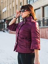 Женская куртка с брошью и рукавом 3/4 рр 54-66, фото 3