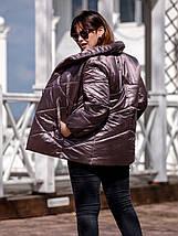Женская демисезонная куртка-одеяло  рр 54-66, фото 2