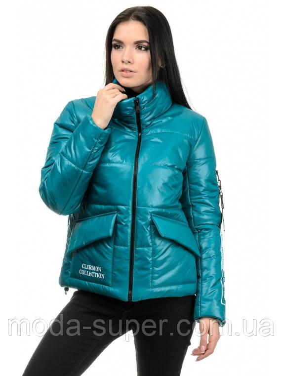 Женская куртка прямого силуэта  рр 42-48