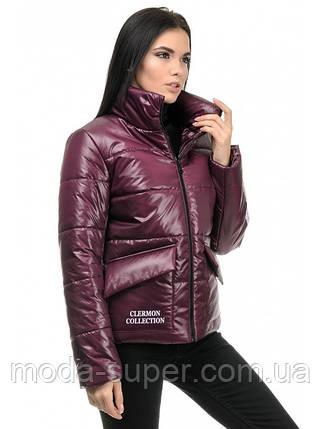 Женская куртка прямого силуэта  рр 42-48, фото 2