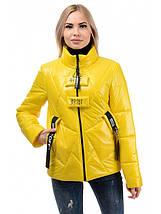 Женская куртка деми с воротником стойка  рр 42-46, фото 2
