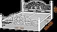 """Кровать """"Жозефина на деревянных ногах"""" 1,6, фото 4"""