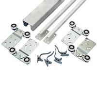 Раздвижная система для шкаф-купе Новатор 287\2 для дверей весом до 40 кг и рельса 1.8м