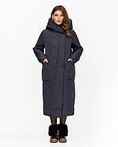 Длинная зимняя куртка-одеяло рр 44-58, фото 2