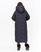 Длинная зимняя куртка-одеяло рр 44-58, фото 3