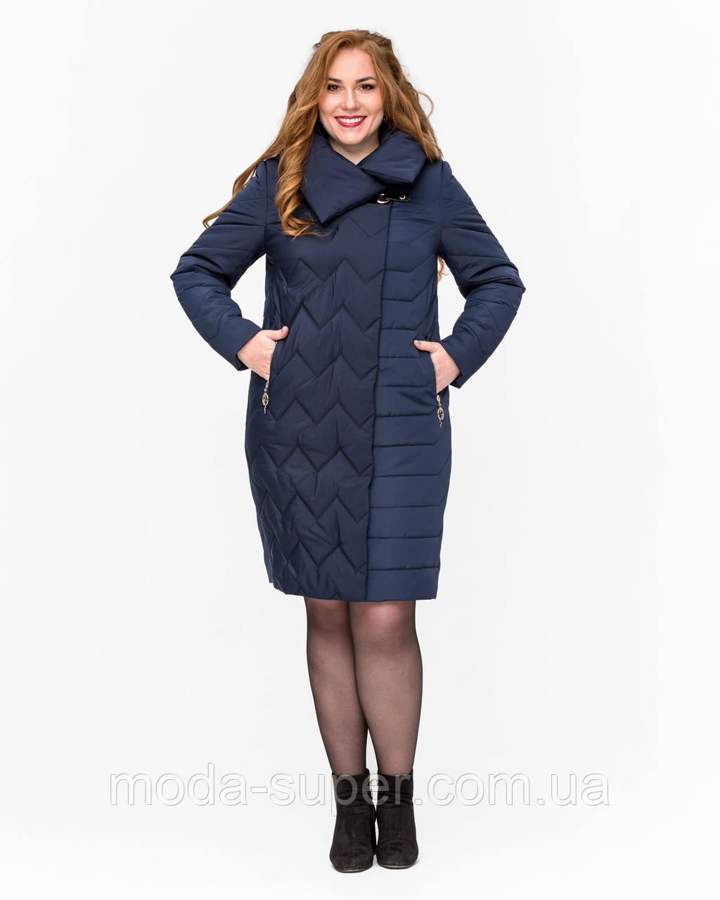 Жіноча куртка демі великі розміри рр 48-60